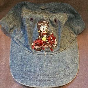 vintage saucy BETTYBOOP denim dad hat